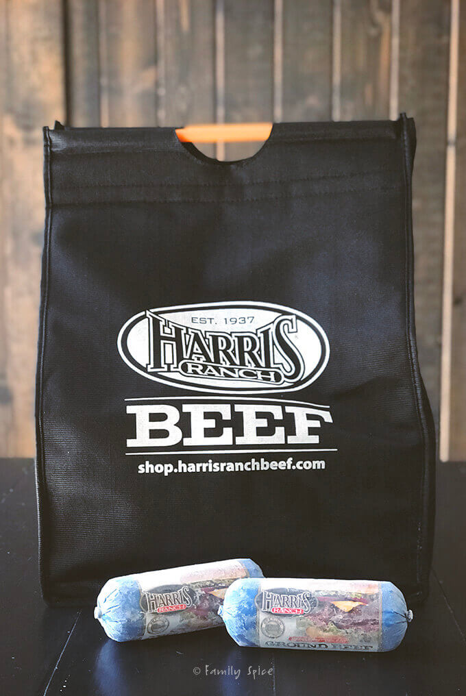 Harris Ranch insulated bag from online store by FamilySpice.com